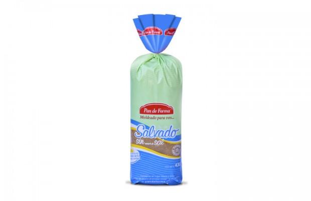 Pan con Salvado Sin Sal
